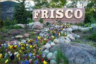 The Frisco East Entrace Main Sign